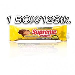 Supreme Protein Riegel Box 12X85g Peanut Butter Crunch