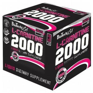 L-Carnitin 2000mg Box Ampullen 20X25ml Ananas Mango