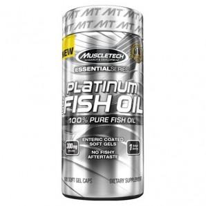 Platinum 100% Fish Oil Essential Series 100 Soft Gels
