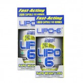 Nutrex Lipo 6 120Caps Dopplepack