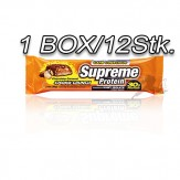 Supreme Protein Riegel Box 12X85g Chocolate Caramel Cookies Crunch